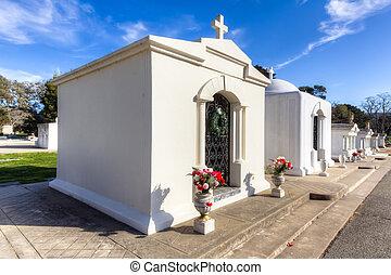 al aire libre, mausoleo