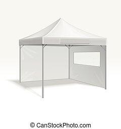 al aire libre, plegadizo, ilustración, promocional, vector, publicidad, acontecimiento, tienda