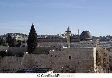 Al Aqsa mosque  in israel travel adventure
