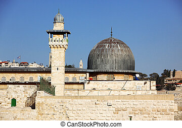 Al Aqsa Mosque in Jerusalem, Israel