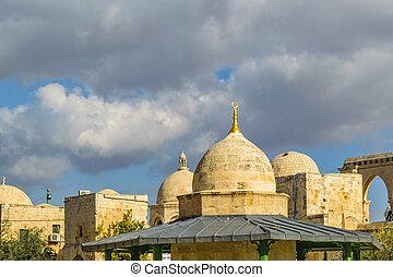 Al Aqsa Mosque, Jerusalem City