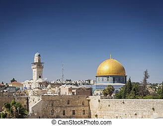 al aqsa mosque landmark in old town of jesuralem israel