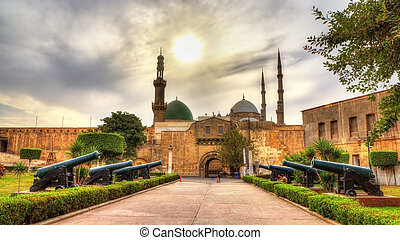 al-ayyuby, sultan, saladin, -, caire, egyp, canons, ...