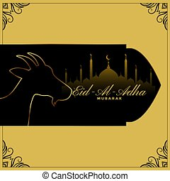 al, diseño, eid, plano de fondo, fiesta, adha, islámico