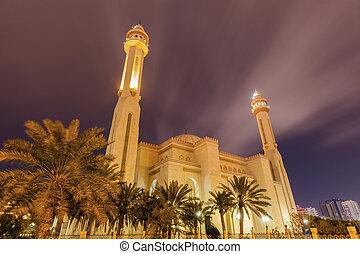 al , fateh, διακεκριμένος τέμενος , μέσα , manama