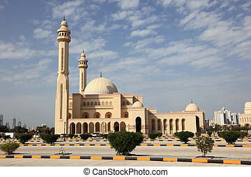 Al Fateh Grand Mosque in Manama, Bahrain