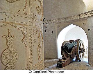 Al Hazm Fort in Oman.