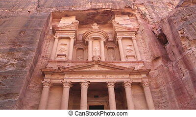 Al Khazneh?or?The Treasury?at Petra, Jordan-- it is a symbol...