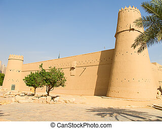 Al Masmak fort in the Riyadh city, Saudi Arabia