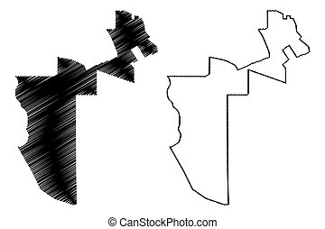 Al Rayyan (State of Qatar, Municipalities of Qatar) map ...