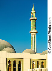 Al Shouyoukh Mosque in Doha, the capital of Qatar.