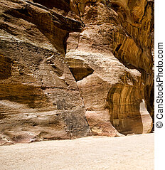 Al-Siq in Petra, Jordan