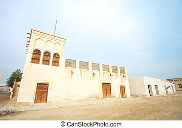 Al Wakra House - Typical old style Middle Eastern house in ...
