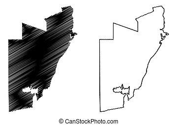 Al Wakrah (State of Qatar, Municipalities of Qatar) map ...