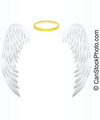 ala del ángel