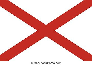 Alabama Flag.