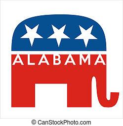 alabama, republikanie