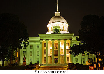 Alabama state capitol - State capitol building in...