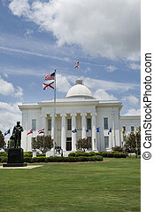 State capitol of Alabama in city of Montgomery, Alabama.