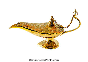 aladdin, lamp