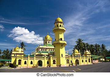 alaeddin, malasia, mezquita, sultán