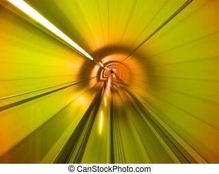 alagút, át