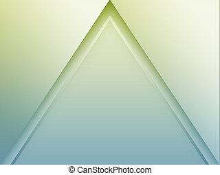 alakzat, háromszög, elvont, (pyramid)