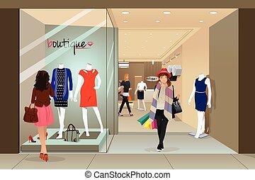 alameda, compras de mujer