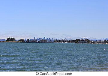 View of San Francisco Skyline