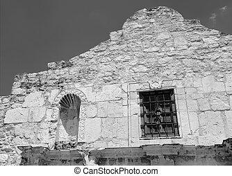 alamo, 中に, サン・アントニオ, テキサス, アメリカ