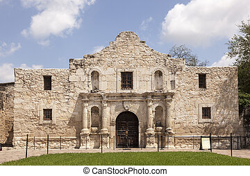 alamo, 代表団, 中に, サン・アントニオ, テキサス