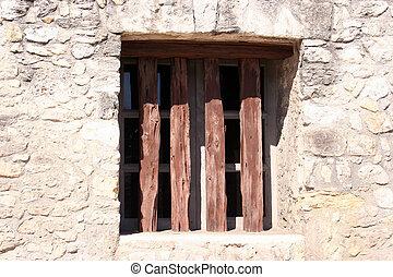 alamo, 窓