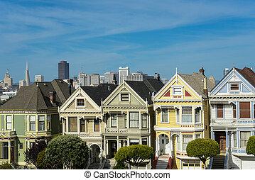 Alamo Square San Francisco California