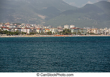 Alanya - the beach of Aladdin . Alanya is one of most...