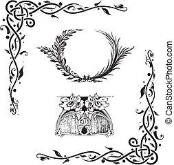 alapismeretek, dekoratív, floral tervezés