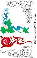 alapismeretek, floral tervezés