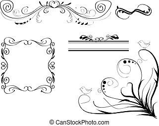 alapismeretek, retro, calligraphic