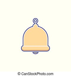 Alarm, alert, bell icon, call, notification sign, ring icon