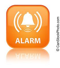 Alarm (bell icon) special orange square button