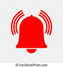 Alarm bell icon. Vecor illustration for your design