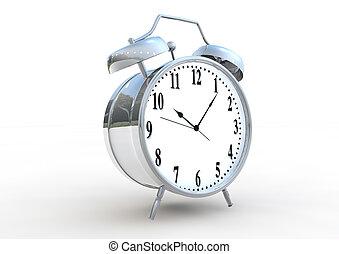 Alarm clock 3D render