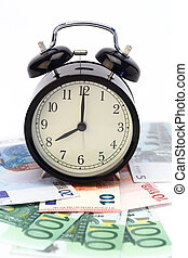 time for money concept