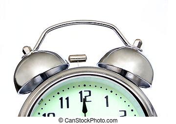 Alarm Clock - Close up of alarm clock