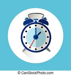 Alarm Clock Colorful Icon