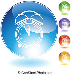 alarm clock Crystal Icon Set