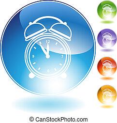 alarm clock Crystal Icon Set