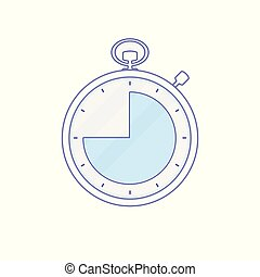 Alarm clock hour minute time timer icon