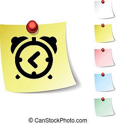 alarm-clock icon.