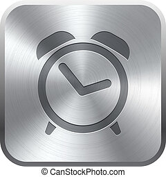 Alarm Clock icon button