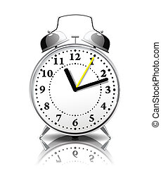 Alarm clock in a retro style.